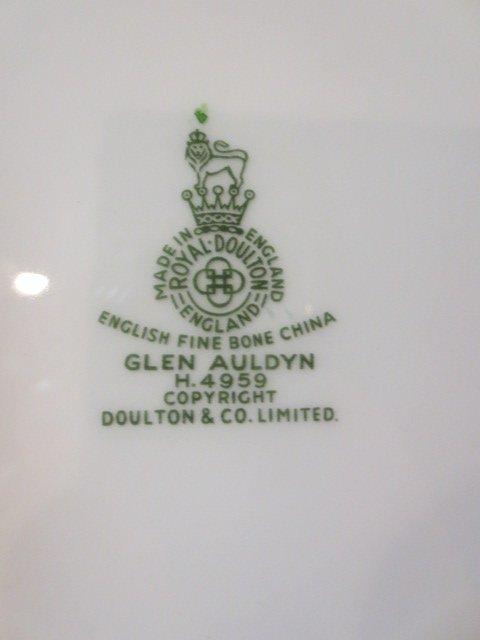 """47: ROYAL DOULTON """"GLEN AULDYN"""" CHINA SERVICE - 78 PIEC - 5"""