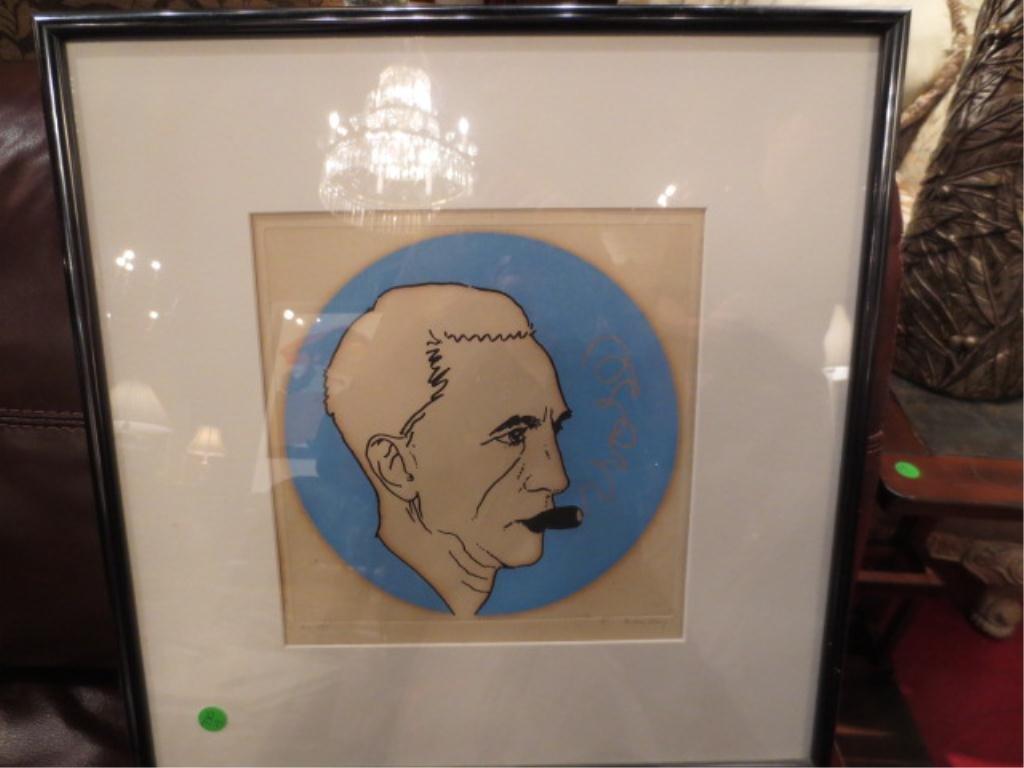 70: MAN RAY, RADNITSKY EMMANUEL, (1890-1976 ), ORIGINAL