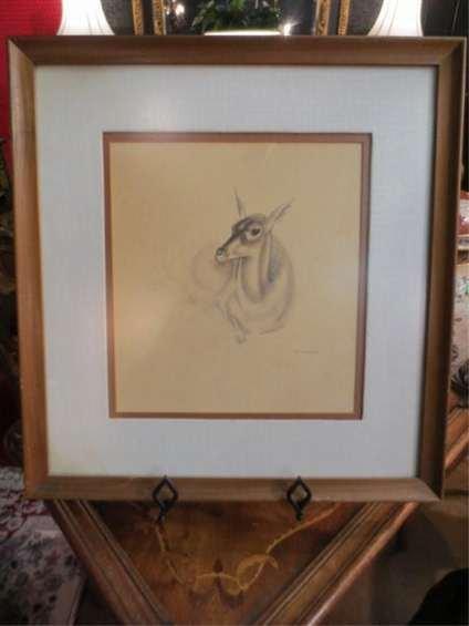 14: JOHN RATTENBURY SKEAPING (1901-1980) DRAWING OF A D