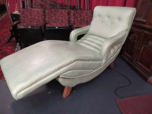 16: VINTAGE 1950's CONTOUR ELECTRIC RECLINING VIBRATING