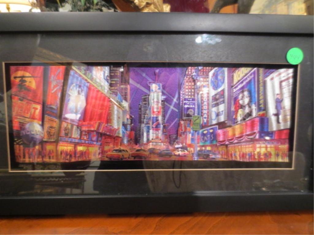 23: THREE DIMENSIONAL ART - NEW YORK BROADWAY/TIMES SQU