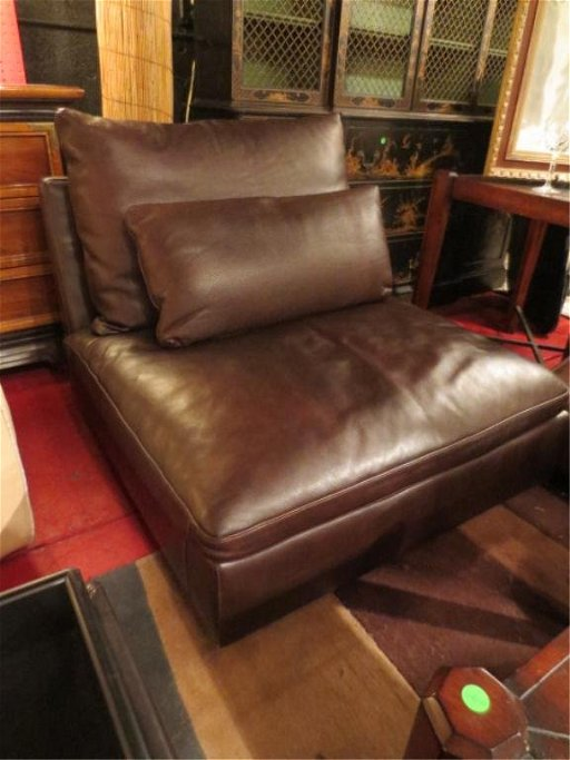 Fantastic 164 Contemporary Natuzzi Leather Slipper Chair New Ne Creativecarmelina Interior Chair Design Creativecarmelinacom