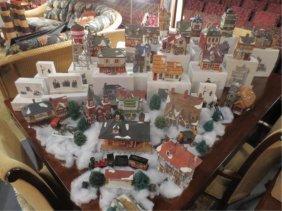 17: HUGE COLLECTION DEPT. 56 CHRISTMAS DISPLAYS - DICKE