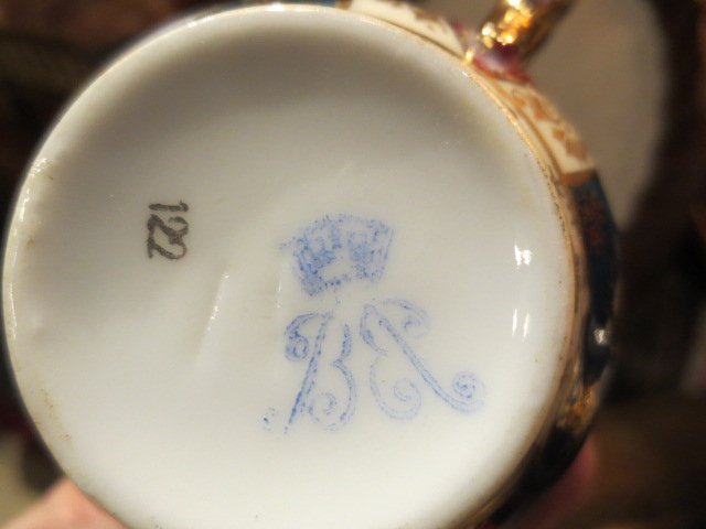 108: ROYAL VIENNA STYLE PORCELAIN GROUP, SOME PIECES MA - 10