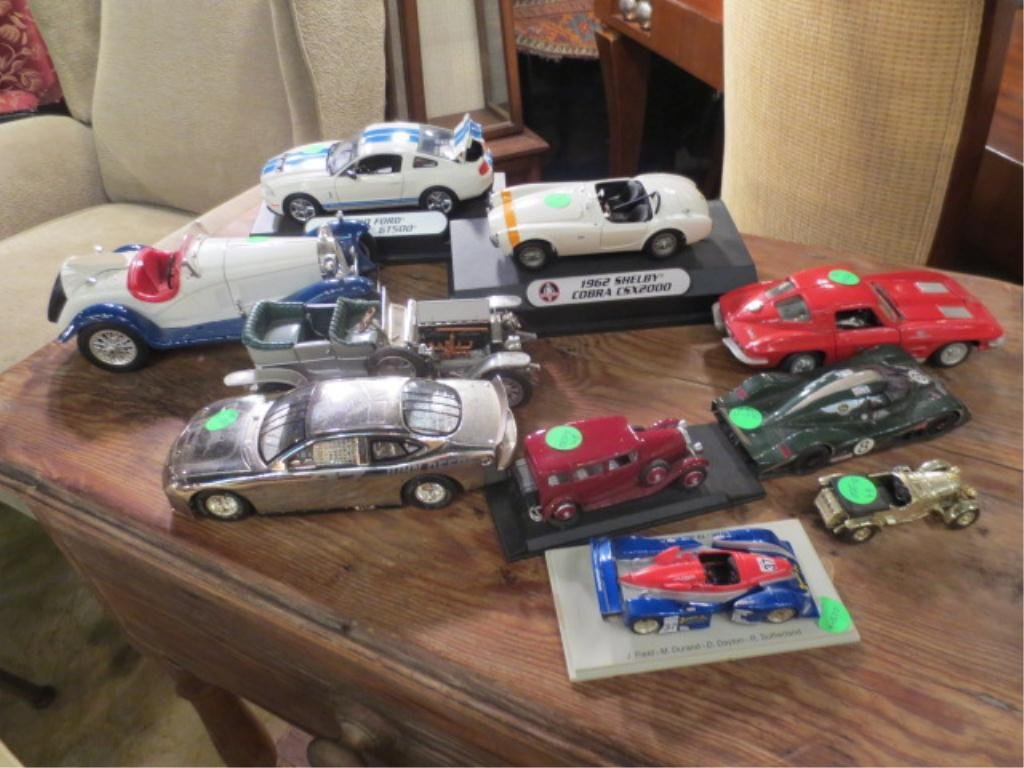 12: COLLECTION OF TEN MODEL CARS, SOLD TOGETHER