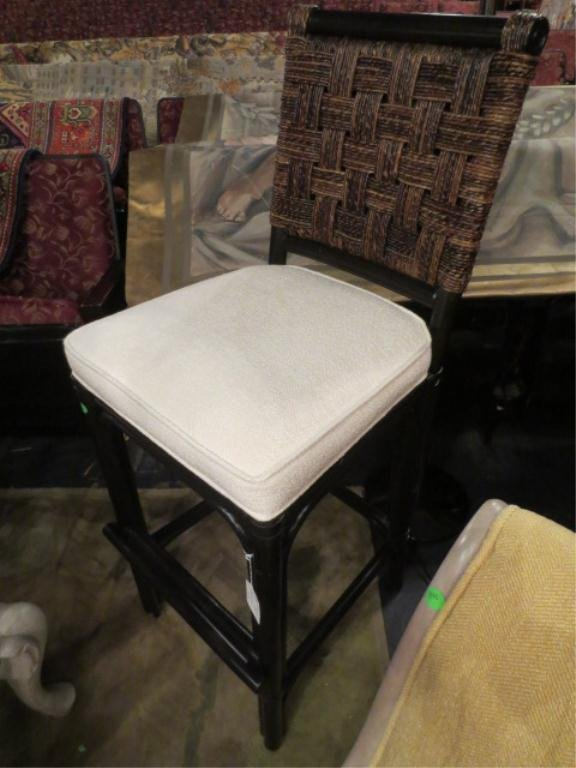 10A: NEW NEVER USED DCOTA DESIGNER. RATTAN LOOK CHAIR,