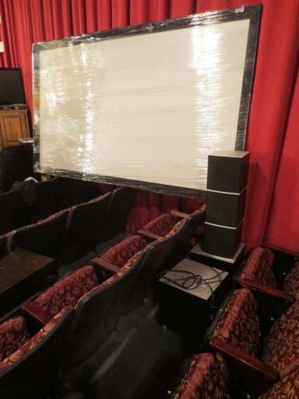 """11: HOME ENTERTAINMENT SYSTEM WITH HUGE 104"""" PROJECTION"""