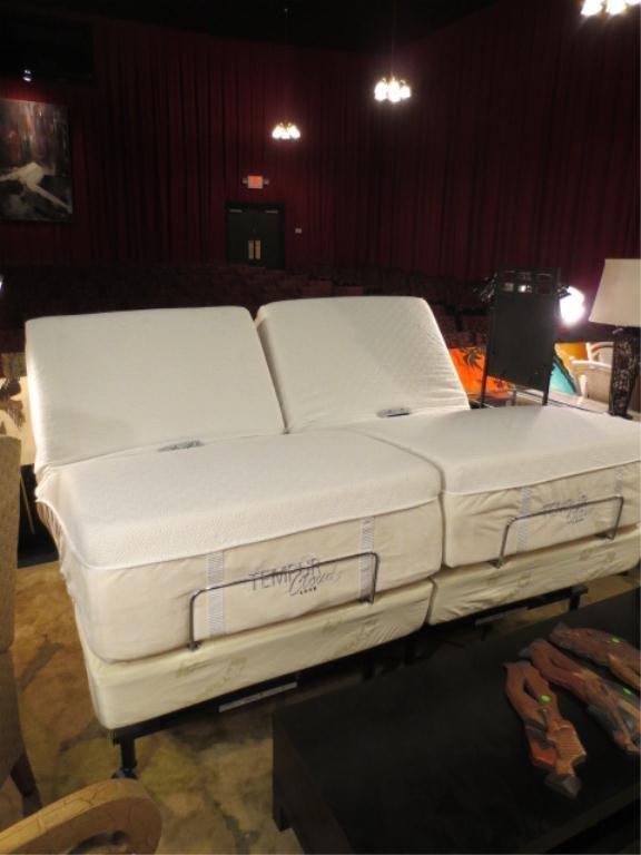 65 almost new tempurpedic split king adjustable bed b - Split King Adjustable Bed