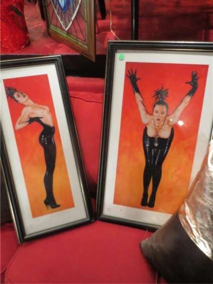 10: TWO LIMITED EDITION EROTIC LITHOGRAPHS, WOMEN IN BL