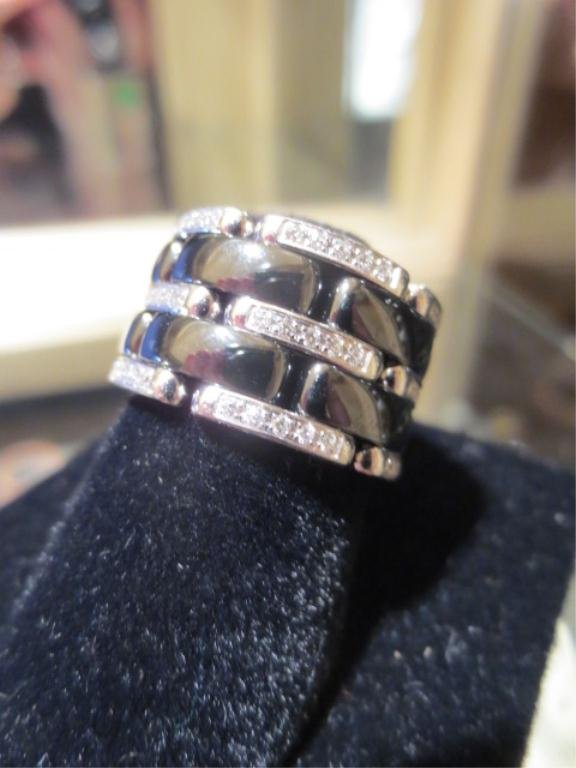 105: CHANEL ULTRA RING, APPROX 1/2 CT DIAMONDS, 18KT WH