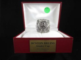REPLICA STANLEY CUP CHAMPIONSHIP RING, BOSTON BRUINS 20