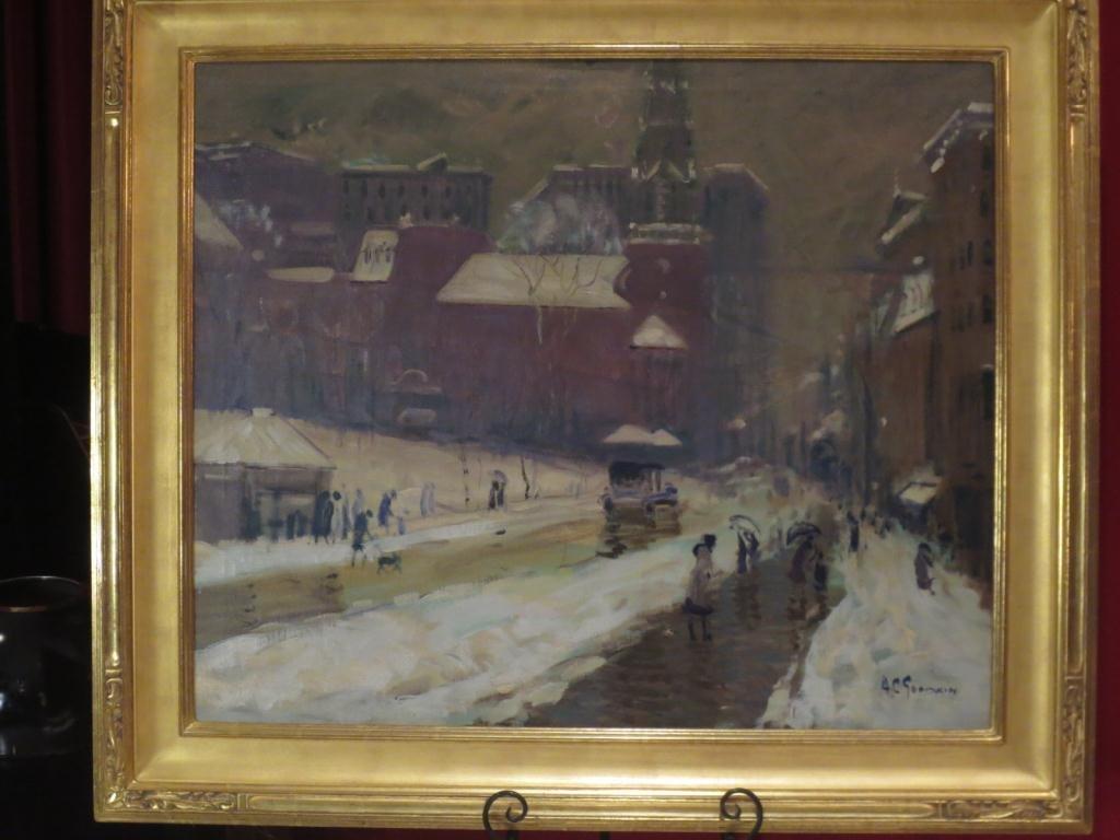 ARTHUR C. GOODWIN (AMERICAN,1864-1929) ORIGINAL OIL PAI