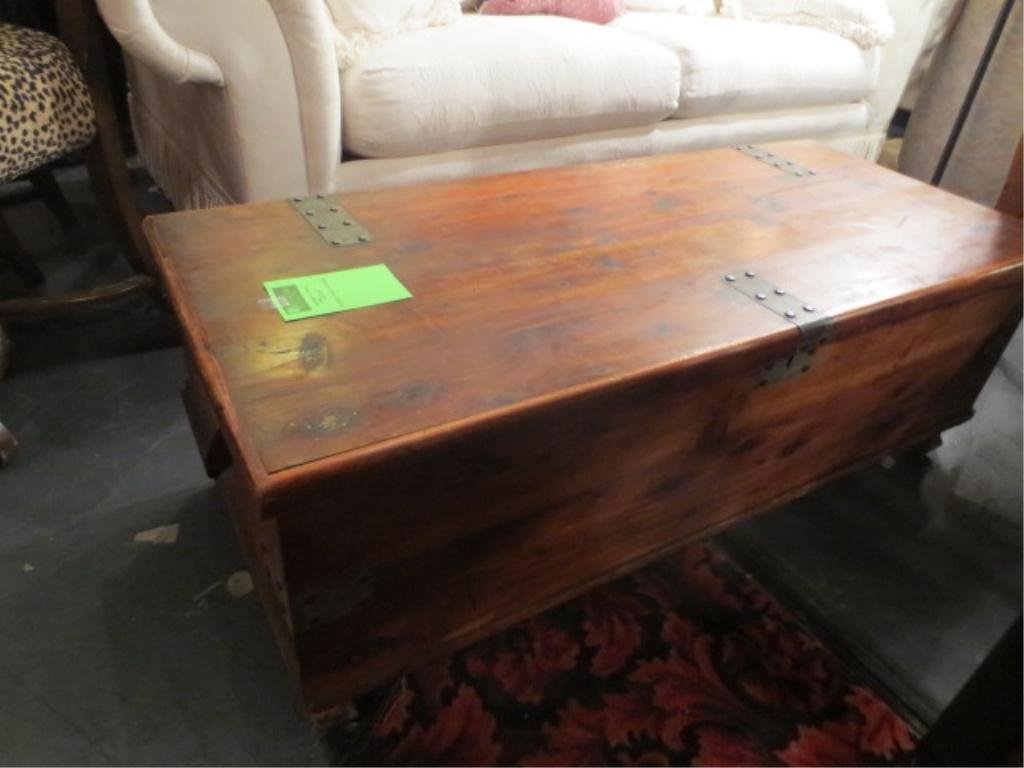 """BLANKET CHEST, APPROX 45""""L"""