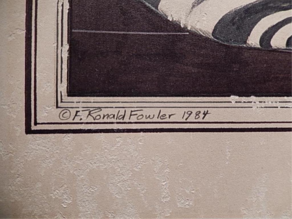 SET OF 4 ORIGINAL F. RONALD FOWLER (AMERICAN, B. 1946) - 4