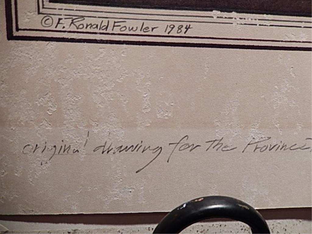 SET OF 4 ORIGINAL F. RONALD FOWLER (AMERICAN, B. 1946) - 5