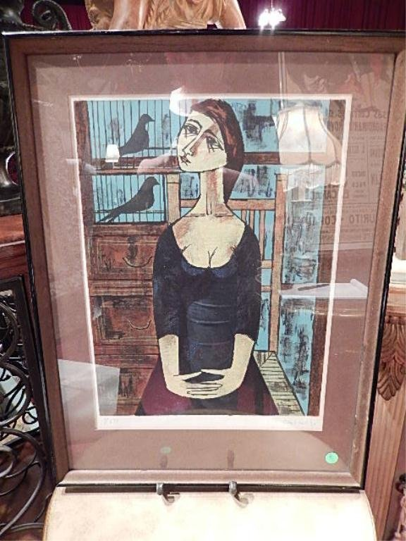 VINCENT CARALTO (SPANISH) LIMITED EDITION LITHOGRAPH,