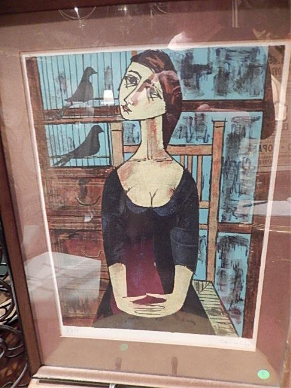 VINCENT CARALTO (SPANISH) LIMITED EDITION LITHOGRAPH, - 2