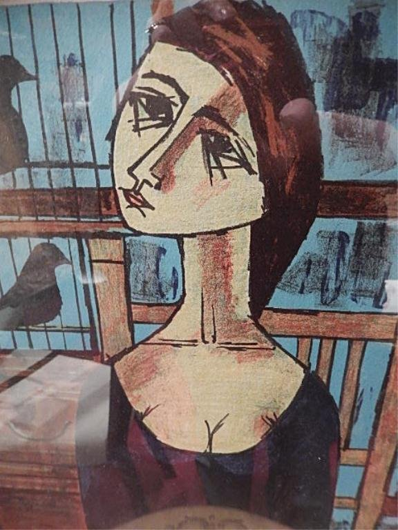 VINCENT CARALTO (SPANISH) LIMITED EDITION LITHOGRAPH, - 3