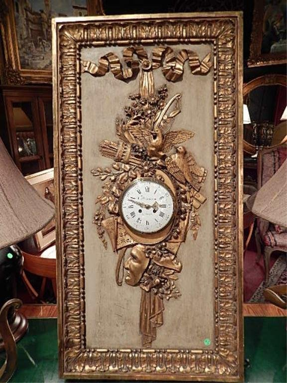 FRENCH LATE 18TH CENTURY CLOCK, CHARLES BALTAZAR