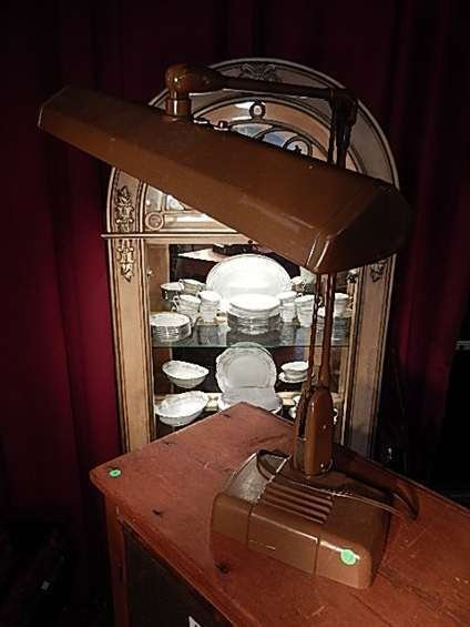 """1950's/60's DESK LAMP, APPROX 20""""H"""