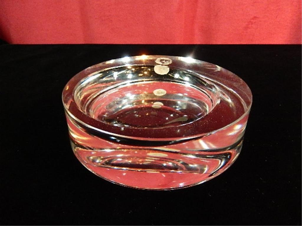 ROSENTHAL GERMANY CRYSTAL ASHTRAY / BOWL, APPROX 5.5""