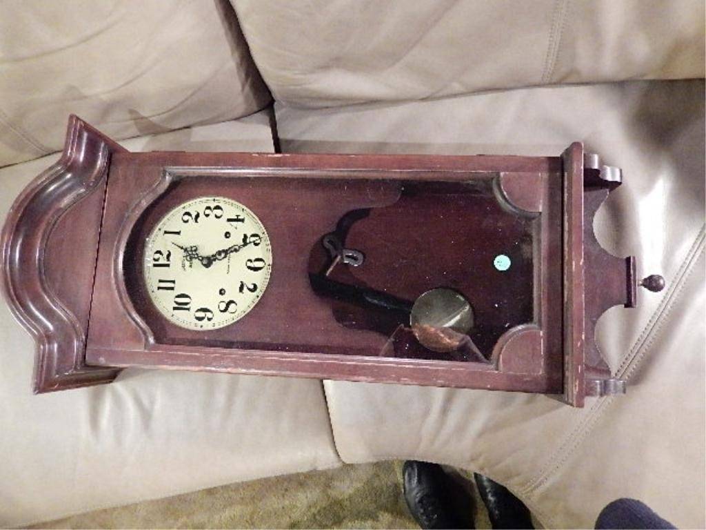 "HAMILTON ""GREENFIELD MANOR"" WALL MOUNT CLOCK, APPROX"