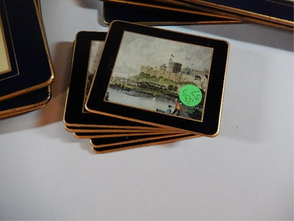 23 PC LADY CLARE MADE IN ENGLAND TRAY, PLACEMATS & - 6