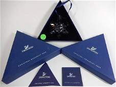 SWAROVSKI CRYSTAL 2008 SNOWFLAKE CHRISTMAS ORNAMENT