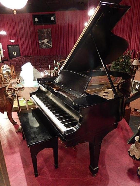 "ANTIQUE STEINWAY & SONS MODEL ""O"" GRAND PIANO, CIRCA"