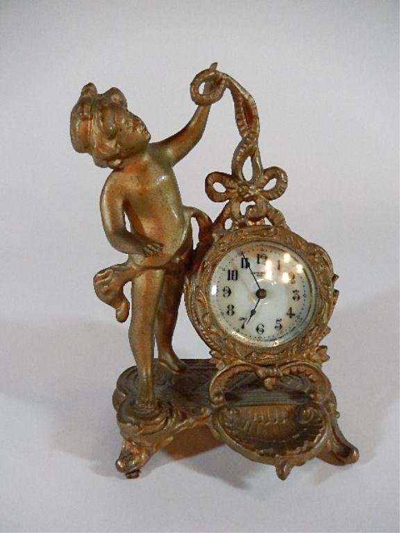 NEW HAVEN FIGURAL CLOCK, MADE BY THE NEW HAVEN CLOCK