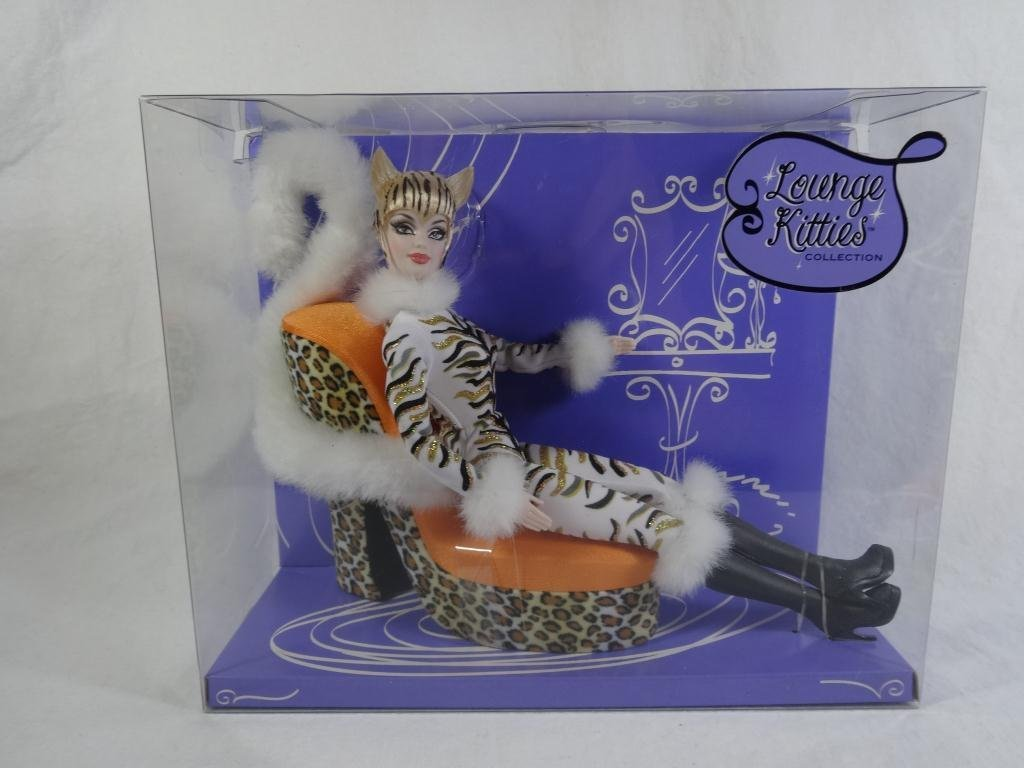 BARBIE LOUNGE KITTIES TIGER DOLL, NEW IN BOX
