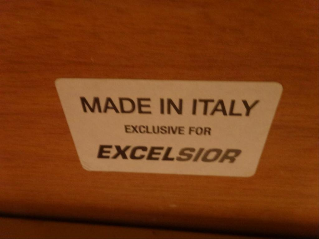 EXCELSIOR DESIGNS DINING TABLE, ITALIAN MADE MODERN - 10