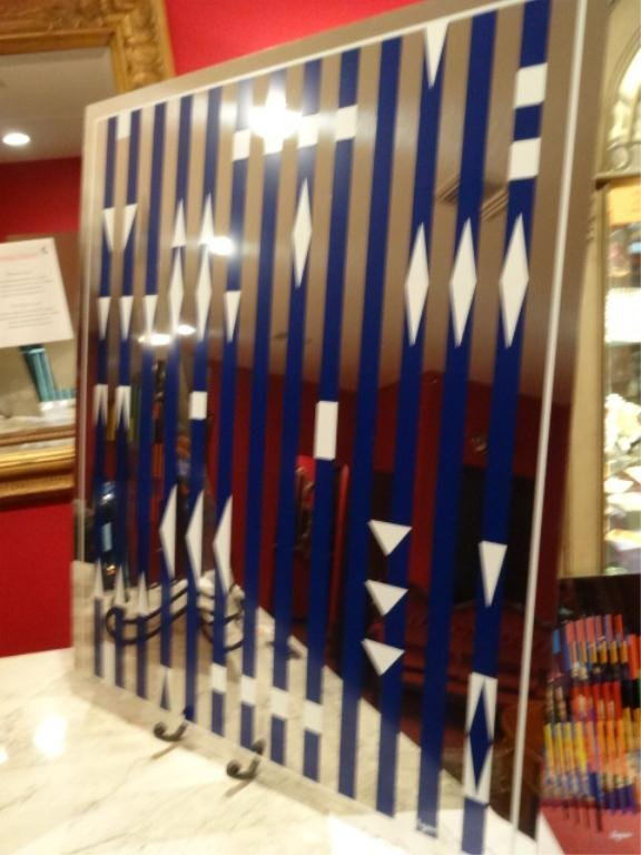 YAACOV AGAM LIMITED EDITION OIL PAINTING ON