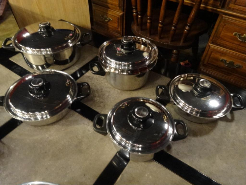 10 PC HEALTHCRAFT COOKWARE, INCLUDES ELECTRIC SKILLET - 5