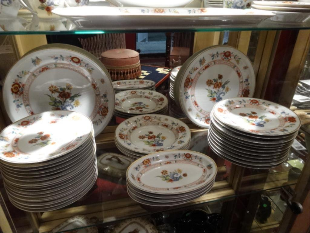 "82 PC HAVILAND LIMOGES ""CATHAY"" CHINA SERVICE, INCLUDES - 2"