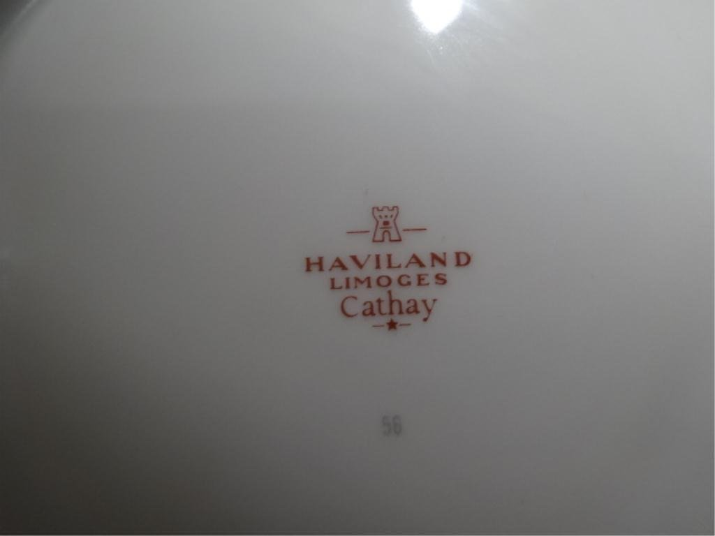 "82 PC HAVILAND LIMOGES ""CATHAY"" CHINA SERVICE, INCLUDES - 5"