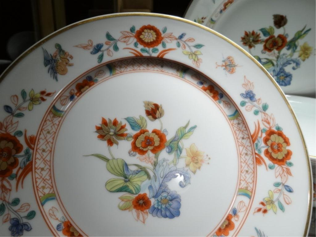 "82 PC HAVILAND LIMOGES ""CATHAY"" CHINA SERVICE, INCLUDES - 6"