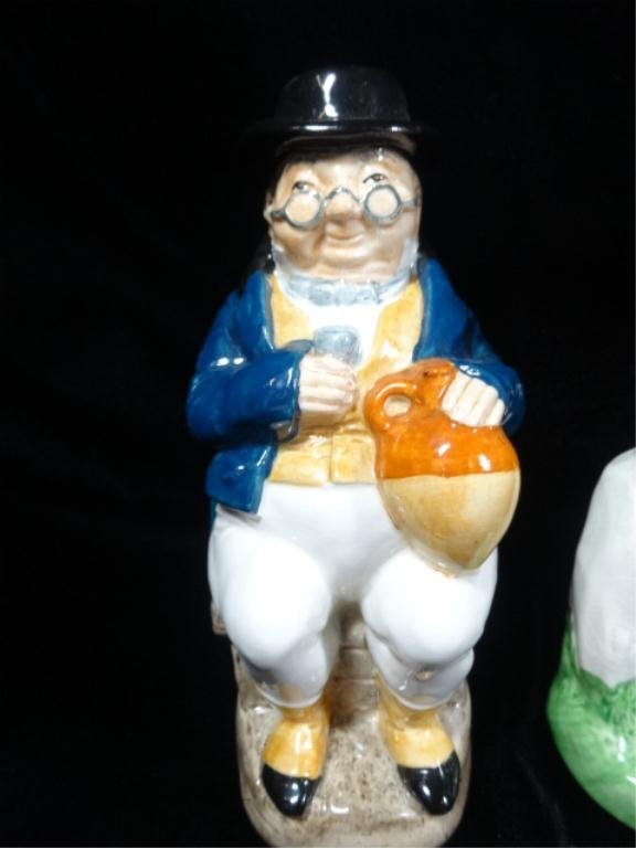 4 PC CHARLES DICKENS TOBY JUG COLLECTION BY WOOD & SONS - 2