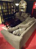 2 PC SOFA AND LOVESEAT NEUTRAL UPHOLSTERY WITH