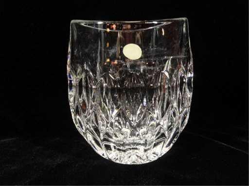 Gorham Full Lead Crystal Vase Made In West Germany