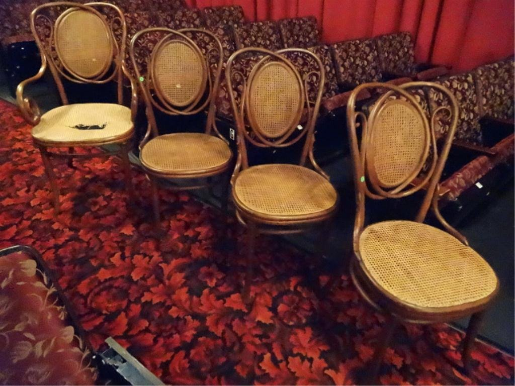 ANTIQUE THONET BENTWOOD CHAIRS