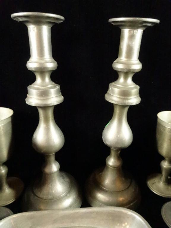 40 PC PEWTER COLLECTION, INCLUDES 8 JOHN SOMERS JS-X-MG - 6