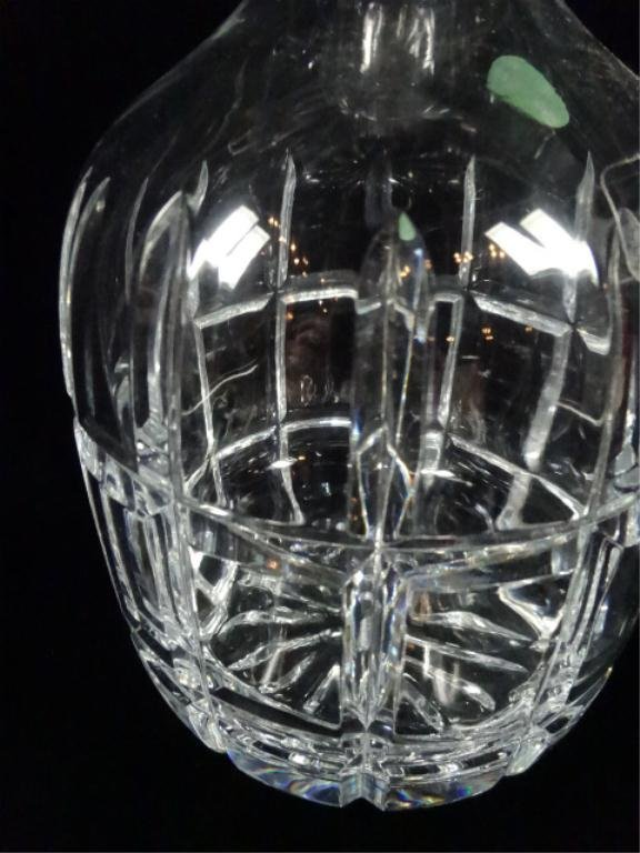 """TOWLE CRYSTAL DECANTER, APPROX 10.75""""H - 2"""