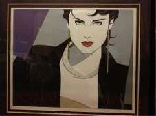 PATRICK NAGEL MICHELLE LIMITED EDITION LITHOGRAPH