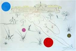 """SALVADOR DALI ETCHINGS: """"VISIONS OF CHICAGO"""" SET"""
