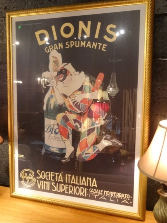 LARGE REPLICA ITALIAN DIONIS ADVERTISING POSTER WITH - 3