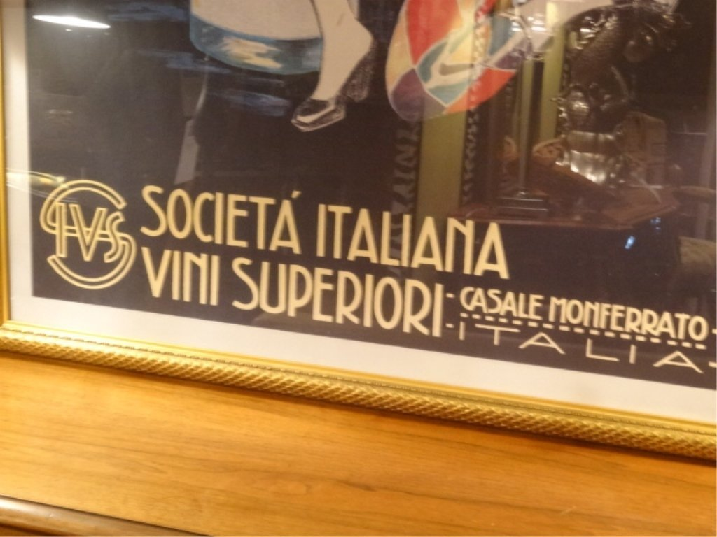 LARGE REPLICA ITALIAN DIONIS ADVERTISING POSTER WITH - 7