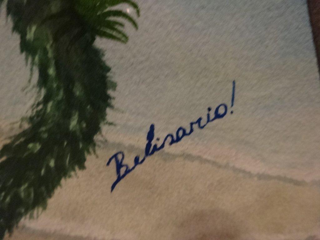 HUGE BELISARIO MANRIQUE WATERCOLOR PAINTING, PARROTS, - 7