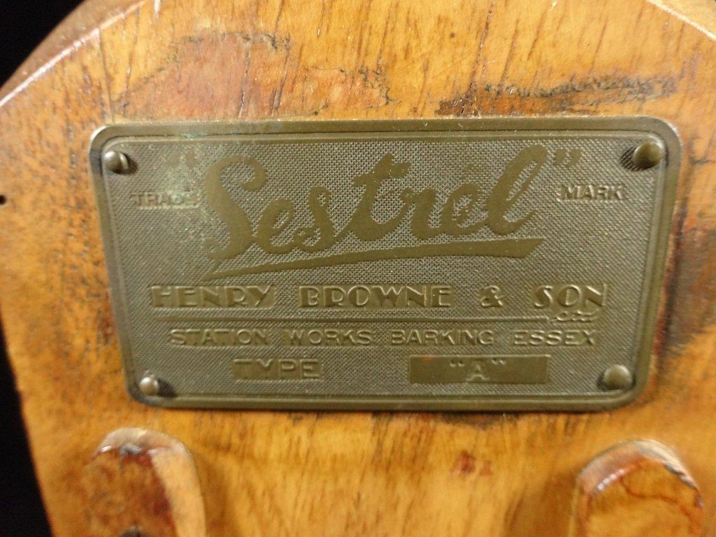 SESTREL BINNACLE WITH COMPASS, HENRY BROWNE & SON LTD., - 2