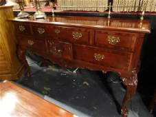 STANLEY MAHOGANY CHIPPENDALE SIDEBOARD, 60TH
